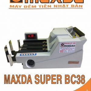 máy đếm tiền MAXDA SUPER BC38