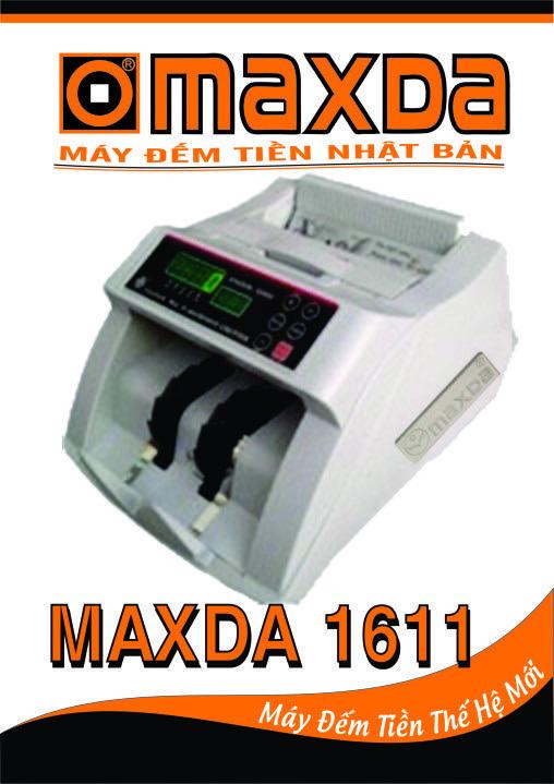 máy đếm tiền maxda 1611