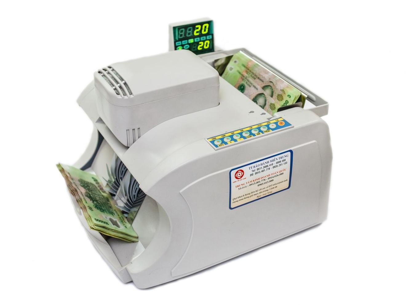 máy đếm tiền xinda 1000J
