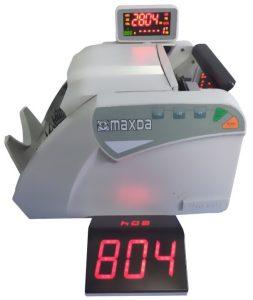 Máy đếm tiền cao cấp Maxda 2804